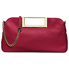 Buy MICHAEL Michael Kors Berkley Large Leather Clutch Online at johnlewis.com