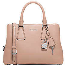 Buy MICHAEL Michael Kors Camille Medium Leather Satchel Online at johnlewis.com