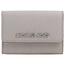 Buy MICHAEL Michael Kors Jet Set Travel Leather Coin Purse Online at johnlewis.com