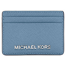 Buy MICHAEL Michael Kors Jet Set Travel Leather Card Holder Online at johnlewis.com