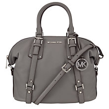 Buy MICHAEL Michael Kors Bedford Belted Large Leather Satchel Online at johnlewis.com