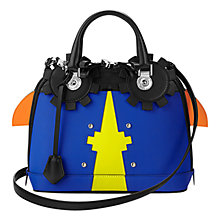 Buy Aspinal of London Mini Hepburn Leather Grab Bag, Multi Online at johnlewis.com