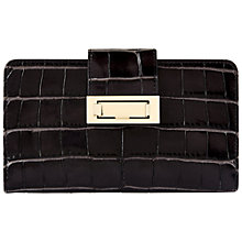 Buy Jaeger Leather Faceted Lock Purse Online at johnlewis.com