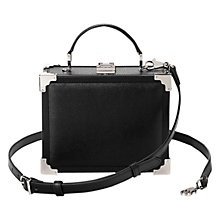 Buy Aspinal of London Mini Leather Trunk Bag Online at johnlewis.com