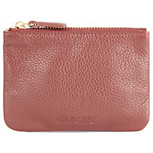 Buy Jaeger Leather Mini Keyring Purse Online at johnlewis.com