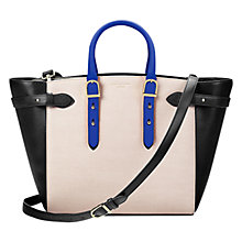 Buy Aspinal of London Marylebone Medium Leather Tote Bag, Multi Online at johnlewis.com