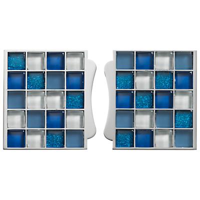 Aqualisa Mosaic Tile Inlays, Blue