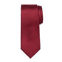 Buy Hackett London Solid Grenadine Silk Tie Online at johnlewis.com