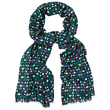 Buy White Stuff Love Heart Scarf, Heron Blue Online at johnlewis.com