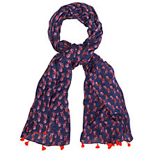 Buy White Stuff Multi Spot Scarf, Zebra Print Online at johnlewis.com