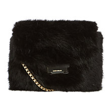 Buy Karen Millen Rockefeller Bag, Black Online at johnlewis.com