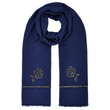 Buy Jacques Vert Flower Beaded Scarf Online at johnlewis.com