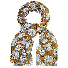Buy White Stuff Highland Tree Scarf, Yellow Online at johnlewis.com