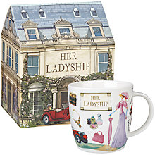 Buy At Your Leisure Her Ladyship Mug Online at johnlewis.com