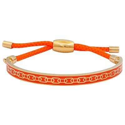 Halcyon Days 18ct Gold Plated Friendship Skinny Chain Bracelet