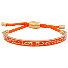 Buy Halcyon Days 18ct Gold Plated Friendship Skinny Chain Bracelet Online at johnlewis.com