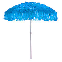 Buy Raffia Freestanding Outdoor Parasol, 2.2m Online at johnlewis.com