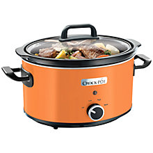 Buy Crock Pot Manual 3.5 Litre Slow Cooker Online at johnlewis.com