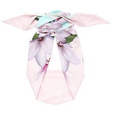 Buy Ted Baker Cadey Magnolia Stripe Skinny Scarf, Blush/Multi Online at johnlewis.com