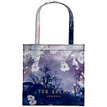 Buy Ted Baker Lilacon Small Icon Shopper Bag, Blue Online at johnlewis.com