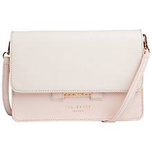Buy Ted Baker Mariann Leather Across Body Bag Online at johnlewis.com