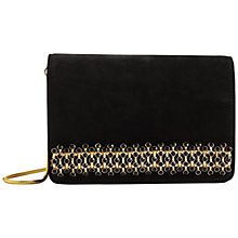 Buy Ted Baker Xeena Embellished Clutch Bag, Black Online at johnlewis.com