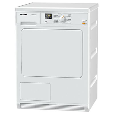 Image of Miele TDA140C Condenser Freestanding Tumble Dryer, 7kg Load, B Energy Rating, White