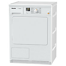 Buy Miele TDA140C Condenser Freestanding Tumble Dryer, 7kg Load, B Energy Rating, White Online at johnlewis.com