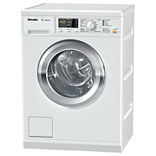 Buy Miele WDA100 Freestanding Washing Machine, 7kg Load. A++ Energy Rating, 1400rpm Spin, White Online at johnlewis.com