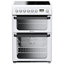 Buy Hotpoint JLE60P Signature Electric Cooker, White Online at johnlewis.com
