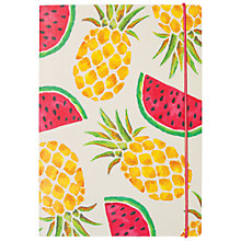 Buy Portico B5 Journal Pineapple & Watermelon Online at johnlewis.com