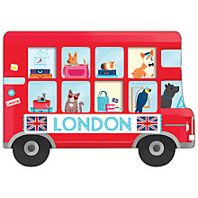 Buy London Bus Cover Sticky Notes Online at johnlewis.com