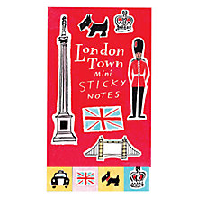 Buy London Town Mini Sticky Notes Online at johnlewis.com