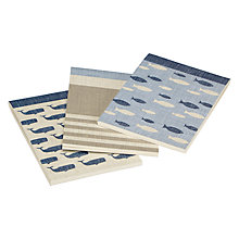 Buy John Lewis Coastal Jotters, Set of 3 Online at johnlewis.com