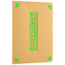 Buy Portico Monogram Kraft A6 Notebook, I Online at johnlewis.com