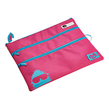 Buy Tinc A4 Pencil Case, Pink Online at johnlewis.com
