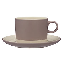 Buy John Lewis Croft Collection Tea Cup and Saucer Online at johnlewis.com