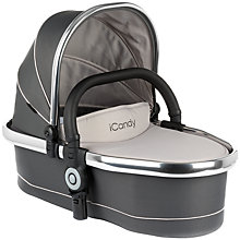 Buy iCandy Peach Blossom Carrycot, Truffle 2 Online at johnlewis.com