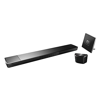 Yamaha YSP-1600 Soundbar, ISX-80 & WX-030 Speakers Wi-Fi, DLNA, Bluetooth, FM Radio MusicCast Systems, Trio Pack
