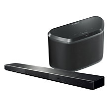 Buy Yamaha YSP-1600 Soundbar & WX-030 Speaker Wi-Fi, DLNA, Bluetooth MusicCast System, Duo Pack Online at johnlewis.com