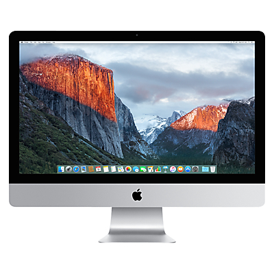 "Image of Apple iMac with Retina 5K display MK482B/A All-in-One Desktop Computer, 3.3GHz Quad-core Intel Core i5, 8GB RAM, 2TB, 27"", Silver"