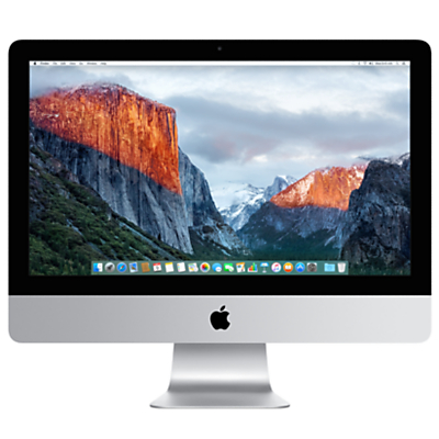 "Image of Apple iMac with Retina 4K display MK452B/A All-in-One Desktop Computer, 3.1GHz Quad-core Intel Core i5, 8GB RAM, 1TB, 21.5"", Silver"