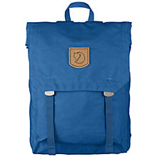 Buy Fjallraven-Kanken Foldsack No.1 Backpack, Lake Blue Online at johnlewis.com