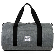 Buy Herschel Supply Co. Sutton Duffle Bag, Grey Online at johnlewis.com