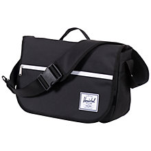 Buy Herschel Supply Co. Pop Quiz Messenger Bag, Black Online at johnlewis.com