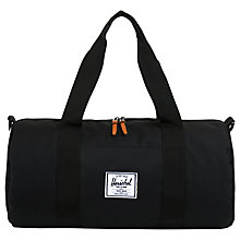Buy Herschel Supply Co. Sutton Small Holdall, Black Online at johnlewis.com