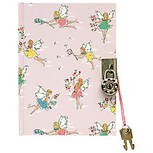 Buy Cath Kidston Fairy Print Diary, Pink Online at johnlewis.com
