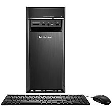 Buy Lenovo H50 Desktop PC, Intel Core i5, 8GB RAM, 1TB, Black Online at johnlewis.com