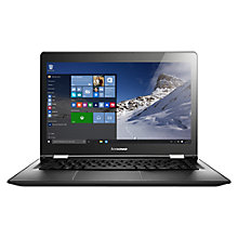 "Buy Lenovo Yoga 500 Convertible Laptop, AMD A8, 8GB RAM, 1TB, 14"", Black Online at johnlewis.com"