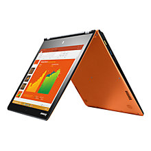 "Buy Lenovo YOGA 700  Convertible Laptop, Intel M3, 8GB RAM, 128GB SSD, 11"" Touch Screen Online at johnlewis.com"